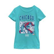 Marvel | MLB | Chicago Cubs | Spider-Man Champ | Womens T-shirt