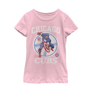 Marvel | MLB | Chicago Cubs | Captain Cub | Womens T-shirt