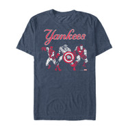 Marvel | MLB | New York Yankees | Yankee Group | Mens T-shirt