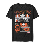 Marvel | MLB | San Francisco Giants | SF Panels | Mens T-shirt