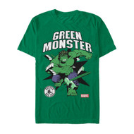 Marvel | MLB | Boston Red Sox | Green Monster | Mens T-shirt