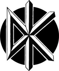 Dead Kennedys | DK Logo | Rub On Sticker