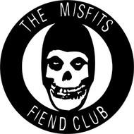 Misfits | Fiend Club | Rub On Sticker