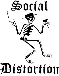 Social Distortion | Logo | Rub On Sticker