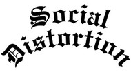 Social Distortion | Gothic Logo | Rub On Sticker
