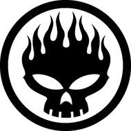 The Offspring | Logo | Rub On Sticker
