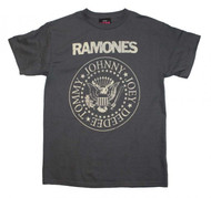 Ramones | Distressed Crest | Men's T-shirt