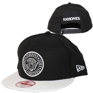 Ramones | Seal Black and White | New Era Snapback