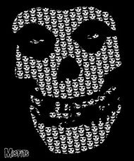 Misfits | Skull | Fleece Blanket