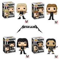 Metallica | Metallica | Pop! Vinyl Figure | #57 | #58 | #59 | #60 | Complete Set