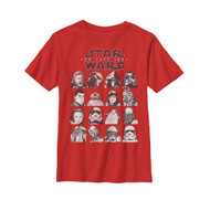 Star Wars | Last Jedi Grid | Youth Tee