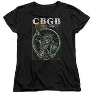 CBGB | Liberty Skull | Womens Tee