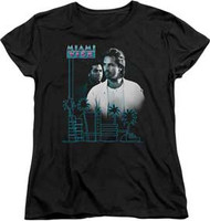 Miami Vice | Looking Out | Womens Tee