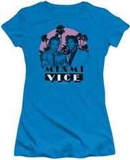 Miami Vice | Stupid | Juniors Cap-Sleeve Tee