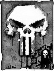 Punisher | Micro-Plush | 50in x 60 in | Throw Blanket