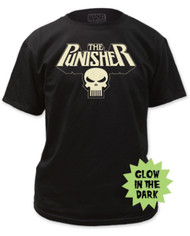 Punisher | Glowing Logo | Mens T-shirt