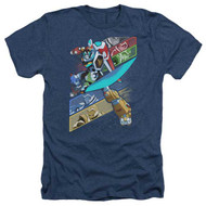 Voltron : Legendary Defender | Crisscross | Heather Men's T-shirt