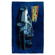 Back To The Future | Delorean | Towel