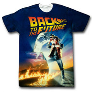 Back To The Future - Movie Poster - Sublimation