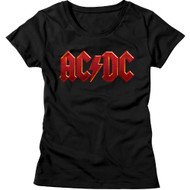 AC/DC | Distressed Red | Women's T-shirt