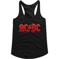 AC/DC | Distressed Red | Tank Top