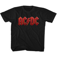 AC/DC | Distressed Red | Youth Tee