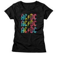 AC/DC | Multicolor | Women's T-shirt