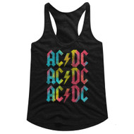AC/DC   Multicolor   Tank Top
