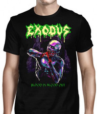 Exodus | Bonded In Blood Out Glow | Men's T-shirt