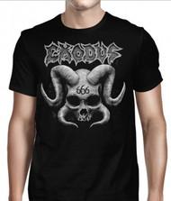 Exodus   Horned Skull   Men's T-shirt