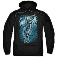 Black Lightning | Black Lightning Bolts | Heavyweight Hoodie