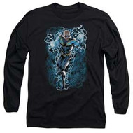 Black Lightning | Black Lightning Bolts | Men's Long Sleeve