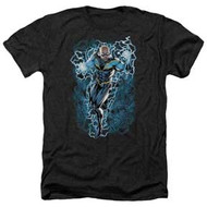 Black Lightning | Black Lightning Bolts | Men's Heather T-shirt
