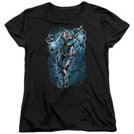 Black Lightning | Black Lightning Bolts | Womens Tee