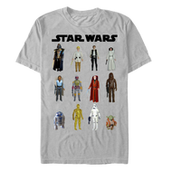 Star Wars | Action Figures | Men's T-shirt