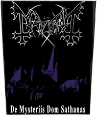 Mayhem | De Mysteriis | Backpatch