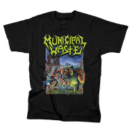 Municipal Waste | Art of Partying | Men's Black T-shirt