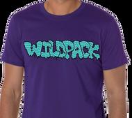 WildPack | Logo |  Men's T-shirt | Purple