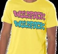 WildPack | Dual Logo |  Men's T-shirt | Yellow