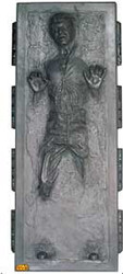 Han Solo in Carbonite Cardboard Stand Up