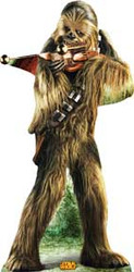 Chewbacca 2 Cardboard Stand Up