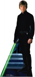 Luke Skywalker Jedi Cardboard Stand Up