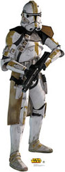 Clone Trooper Cardboard Stand Up