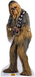 Chewbacca 3 Cardboard Stand Up