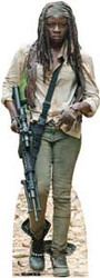 Michonne Cardboard Stand Up