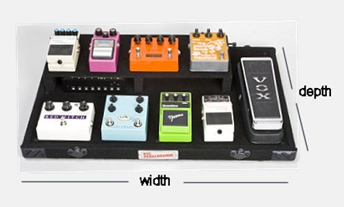 "Custom Size Pedalboard/Case Combo (30""-47"" wide)"