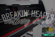 Breakin' Hearts v.1 Decal