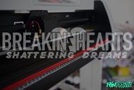 Breakin' Hearts v.2 Decal