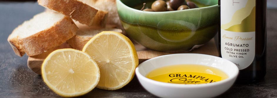 Lemon pressed agrumato olive oil