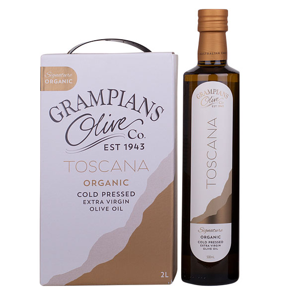 Organic olive oil 2L cask